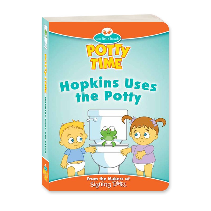 Potty Time Book: Hopkins Uses the Potty